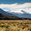 New ZealanSouthern Alps from the Haast River Valley,