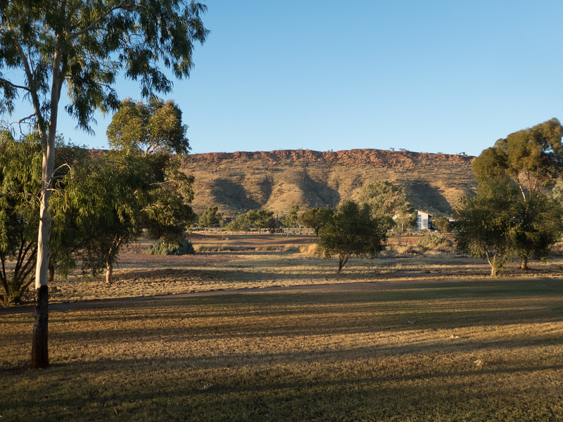 View from the hotel room, Alice Springs, Northern Territory, Australia