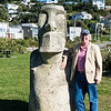 Moai Statue, Wellington, New Zealand
