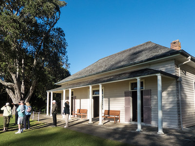 April 25 - Waitangi Treaty House,