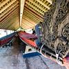 Maori War Canoe, Waitangi Treaty House, Bay of Islands, New Zealand