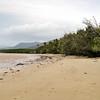 Along the beach on the Coral Sea, Port Douglas, Queensland, Australia