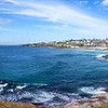 Panorama from Mackensies Point, Bondi Beach, Sydney, New South Wales, Australia