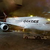 Our Qantas plane waiting to leave for Melbourne