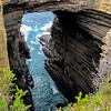 Tasman Arch and littoral chasm, Tasman National Park, Tasmania, Australia