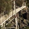 Alexandra Suspension Bridge, Cataract Gorge Reserve, Launceston, Tasmania, Australia