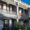Victorian town houses, Melbourne, Australia