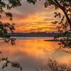 Sunset at Big Creek Lake