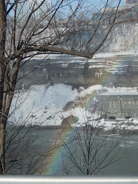 Winter makes the Falls even more magical  (even better on St Patrick's Day -looking for that Pot of Gold..