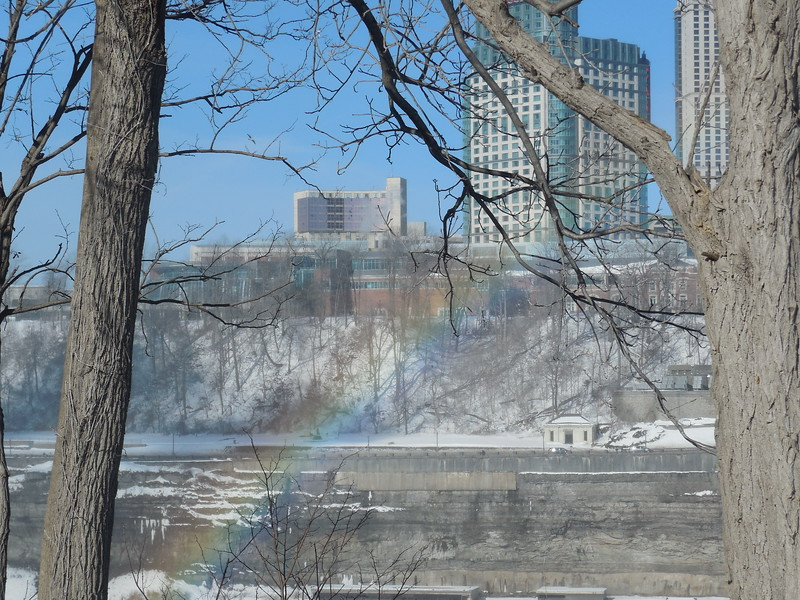 Always best to start any visit to the Falls with a rainbow...