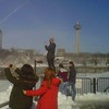 "Always ""someone"" who figures they can go faster on ice, or stand taller on a post  (and yes, I still think Skylon  Tower)"