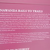 Here are some details (Turns Out that this trail would have been the path of the Tonawanda Subway that would have connected with LaSalle Station in Buffalo