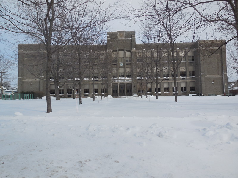 The school was built in 1924