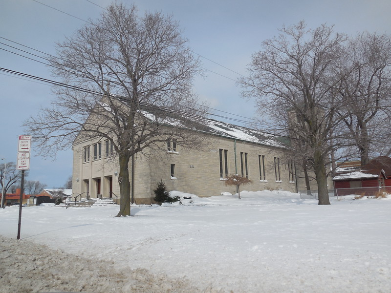 St. Andrew's Church at the corner of Elmwood and Sheridan