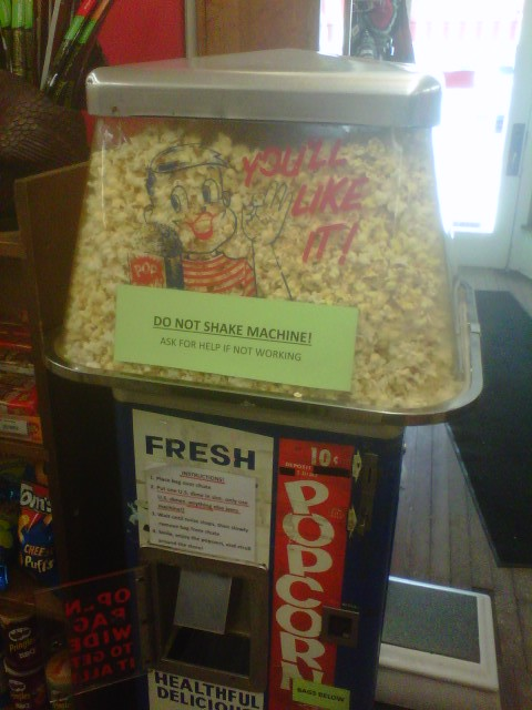 and what would a trip to East Aurora be without a stop at Vidler's..  Perhaps a bag of popcorn ?
