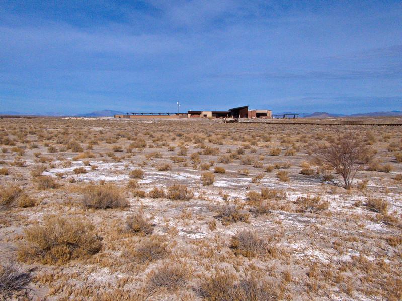 Visitor Center, Crystal Spring, Ash Meadows National Wildlife Refuge, NV