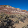 Colorful hills west of Hanksville, UT along Hwy 24