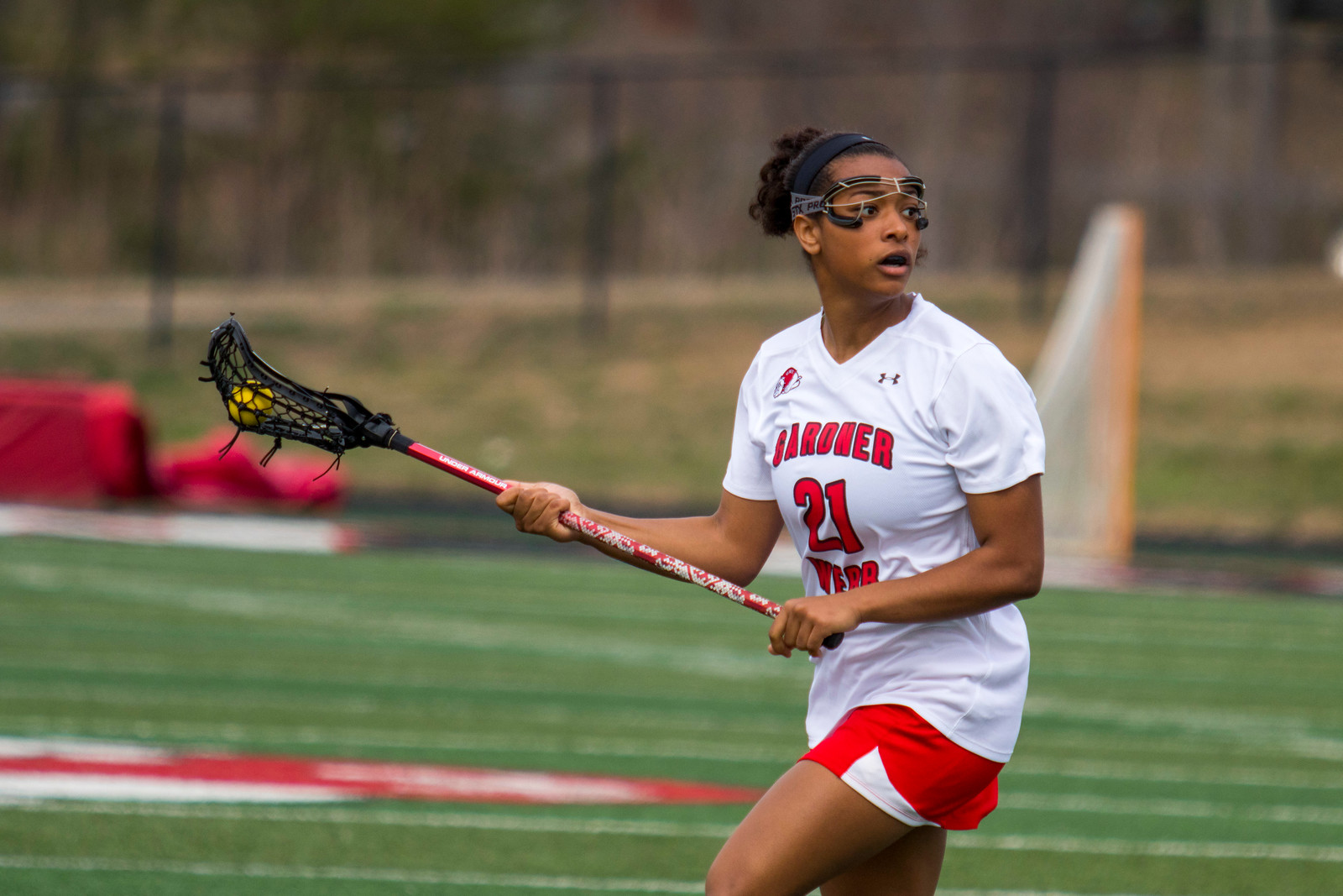 GWU Women's Lacrosse vs. St. Francis Feb 2017