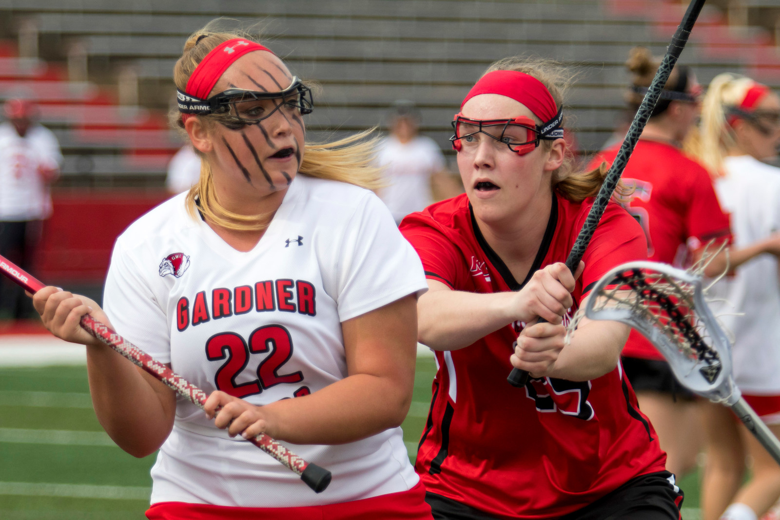 GWU Women's Lacrosse vs. St. Francis Feb 2017