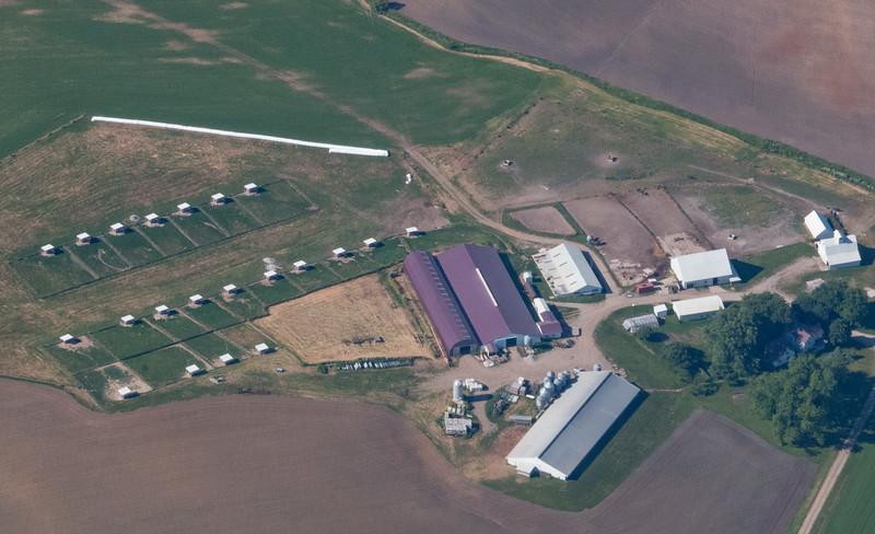 Amish farm SW of Iowa City