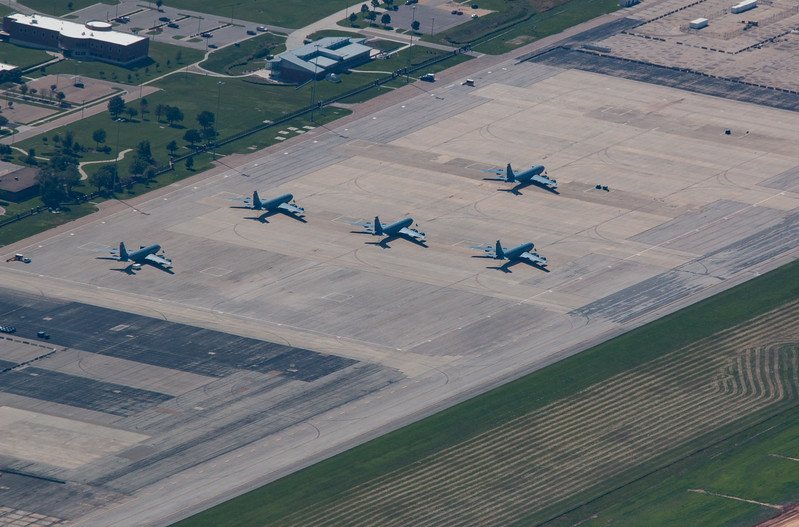 KC135's at Topeka, KS