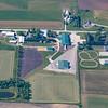 Amish community farm