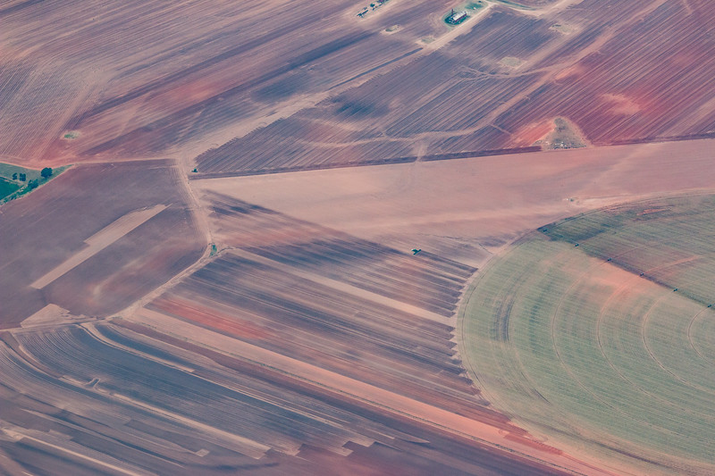 West Texas farm country