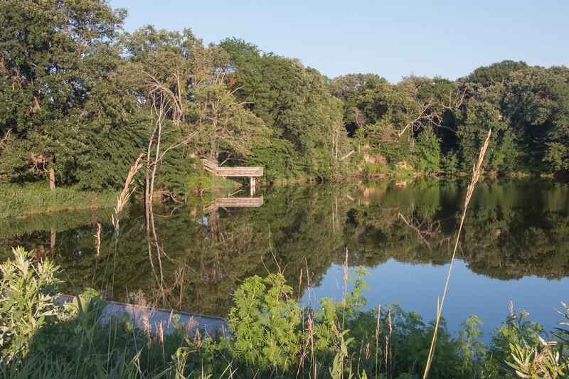 The lake again