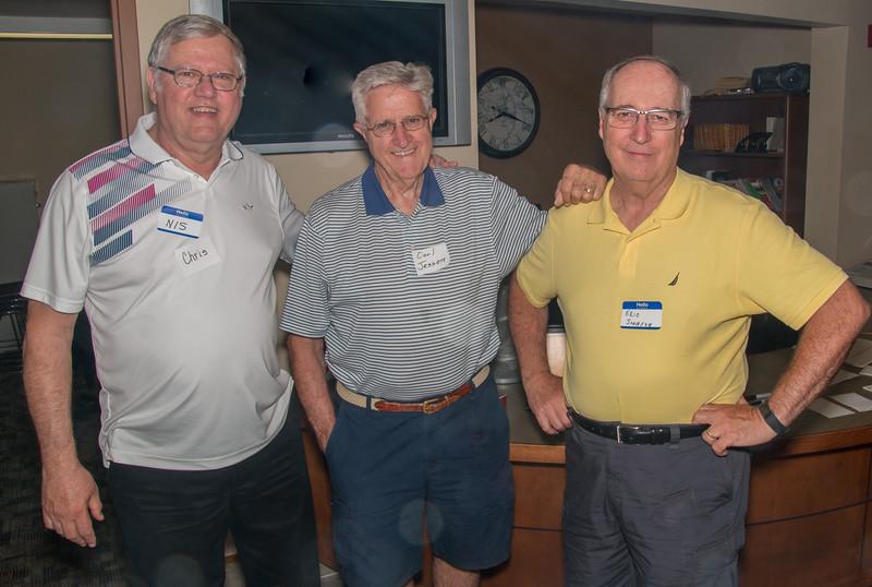 Chris Jessen, Carl Jessen, Eric Johnson