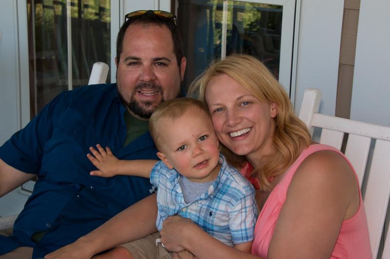 Craig & Lauren Zobec and Jake