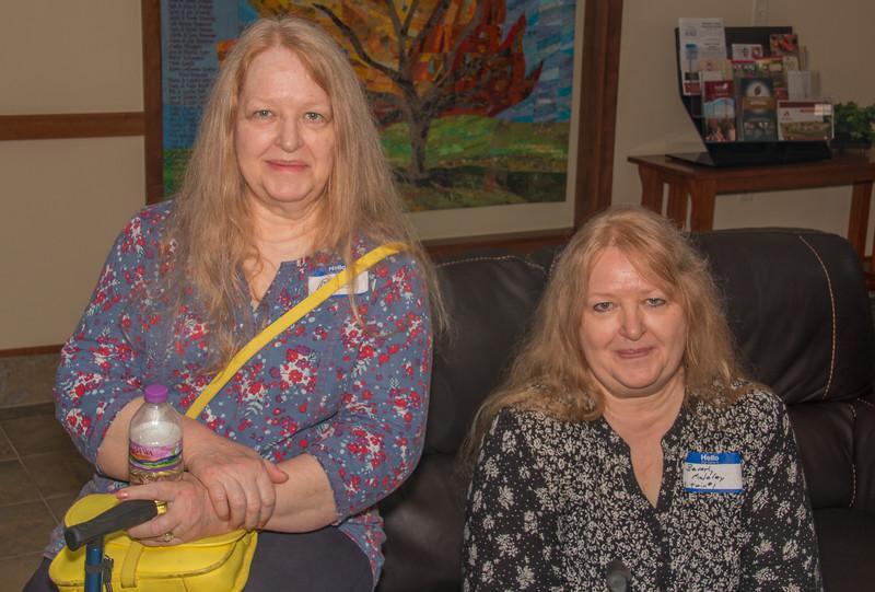 Brenda Ferdig and Beverly Maloley