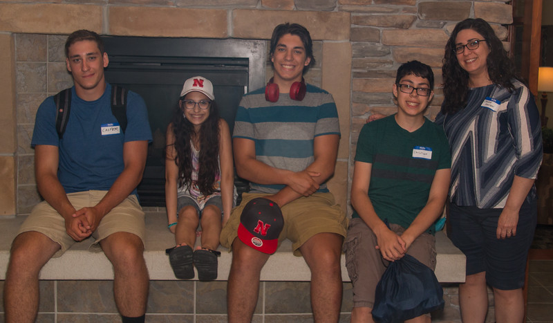 Casper, Thea, Peter, Christian, and Candy Holtzen
