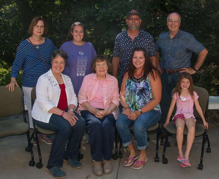 Marie Johnson Family