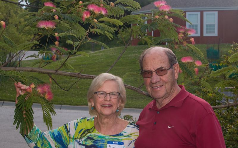 Birthday girl, Meryl, and Arne Jessen