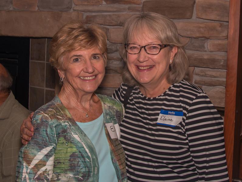 Ellie Knuth and Elaine Shelburne