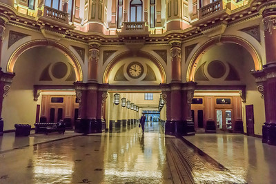 Polished Floors & Domed Entrance