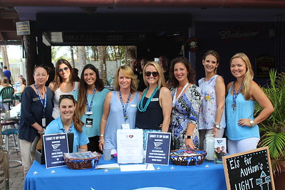 Light it up Blue at the Square Grouper 2017