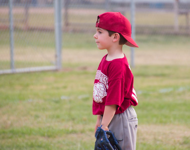 Luke's Baseball game