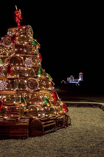 Lobster Trap Christmas Tree