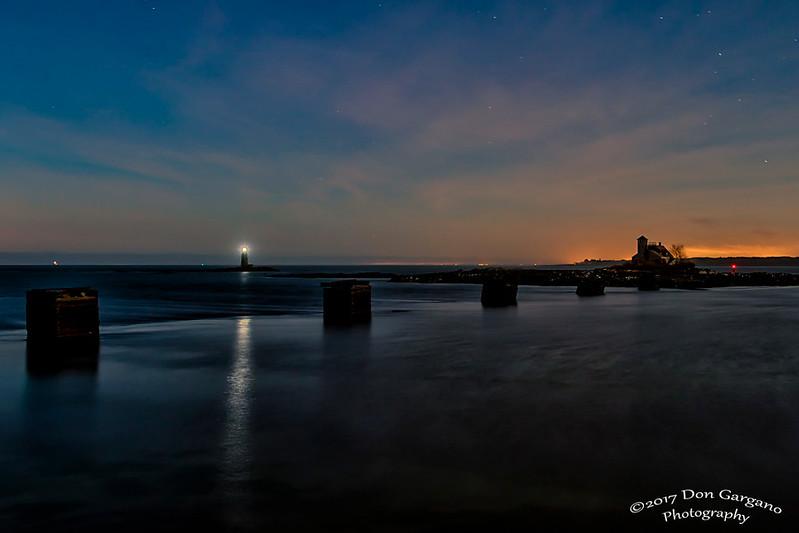 Wood Island Life Saving Station and Whaleback Lighthouse