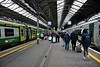 Passengers leave the 1120 from Cork at Dublin Heuston. Tues 07.03.17