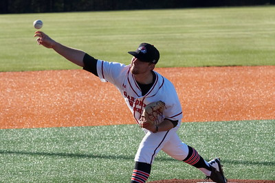 Wil Sellers pitches the ball