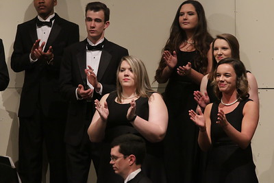 On Tuesday, March 7th at 8:00pm, Gardner-Webb's School of Visual Arts presented the Concert Choir in their Spring Concert.