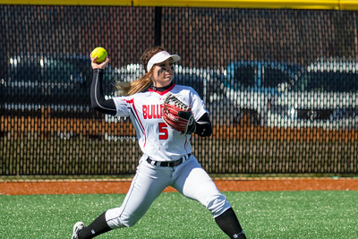 GWU Women's Softball vs. Syracuse March 2017
