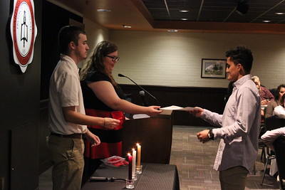 2017 Lambda Pi Eta Induction Ceremony