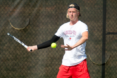 Men's Tennis vs. S.C. State March 2017