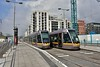 4009 and 4014 at The Point tram stop. Tues 02.05.17