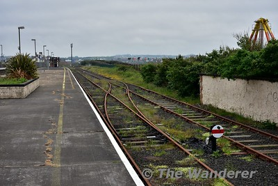 Platform 3 at Portrush retains a runround loop which can be used for locomotive hauled specials. Sat 27.05.17