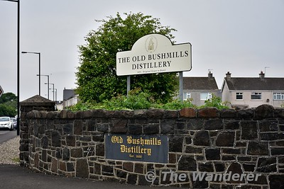 Old Bushmills Distillery at Bushmills in Co. Antrim. Sat 27.05.17