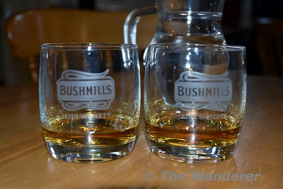 After the tour of the Old Bushmills Distillery at Bushmills in Co. Antrim we had a tasting session. Due to the high alcohol content in the air, cameras and phones weren't allowed to be used. Sat 27.05.17